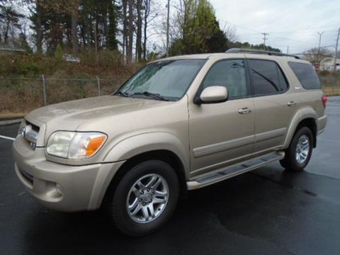2005 Toyota Sequoia for sale at Atlanta Auto Max in Norcross GA