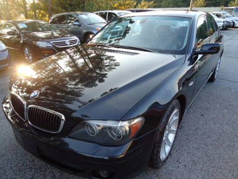 2007 BMW 7 Series for sale in Snellville, GA