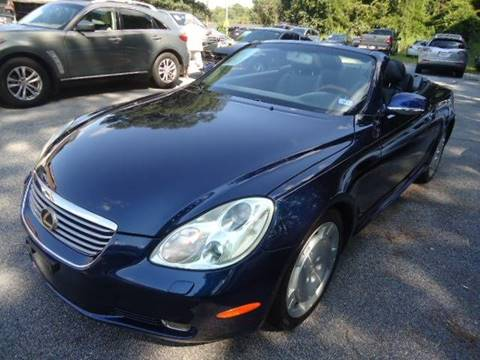 2002 Lexus SC 430 for sale at Philip Motors Inc in Snellville GA
