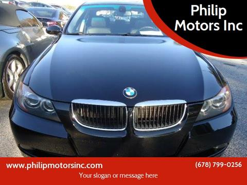 2007 BMW 3 Series for sale at Philip Motors Inc in Snellville GA