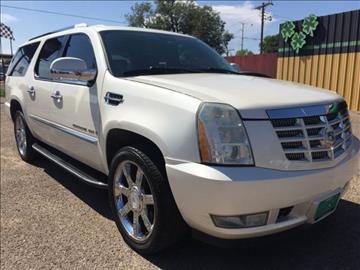 2008 Cadillac Escalade ESV for sale in Amarillo, TX