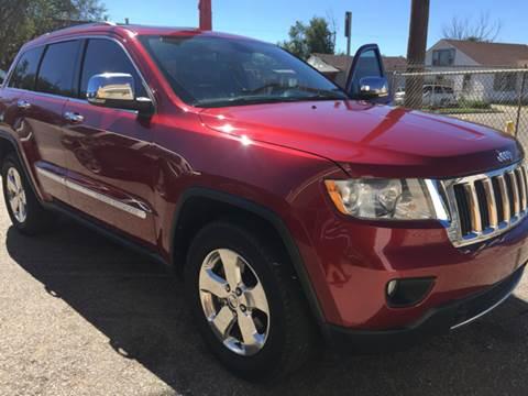 2012 Jeep Grand Cherokee for sale in Amarillo, TX