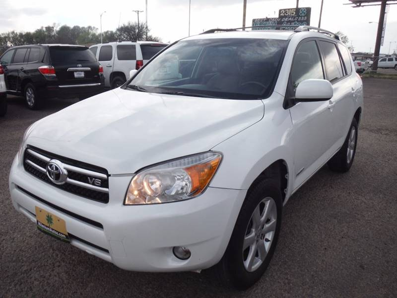 2007 toyota rav4 limited 4dr suv v6 in amarillo tx. Black Bedroom Furniture Sets. Home Design Ideas