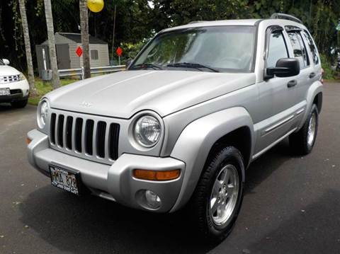 2002 Jeep Liberty for sale in Hilo, HI