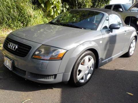 Audi TT For Sale In Hawaii Carsforsalecom - Audi hawaii