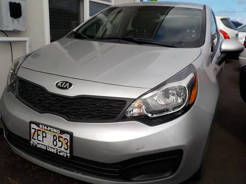 Ponos Used Cars >> Kia Used Cars Pickup Trucks For Sale Hilo Pono S Used Cars