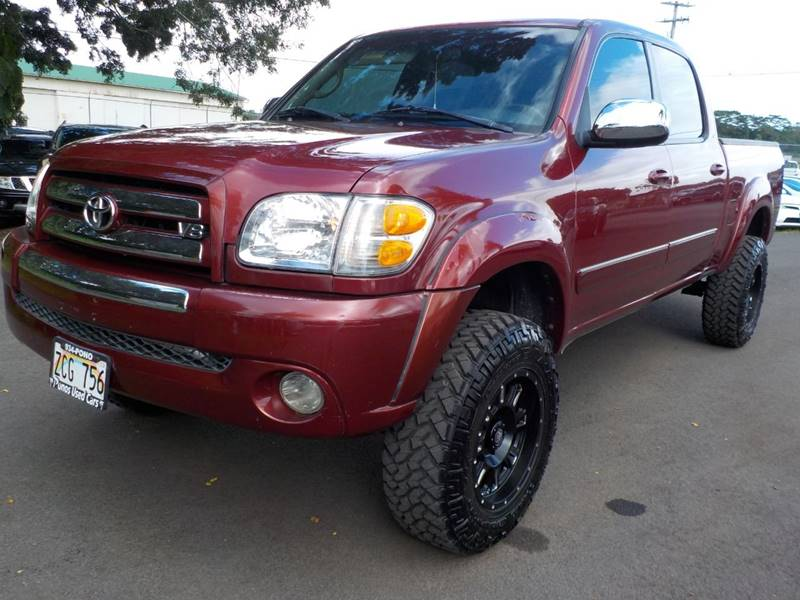 Ponos Used Cars >> 2004 Toyota Tundra 4dr Double Cab Sr5 4wd Sb V8 In Hilo Hi