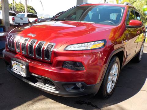 2016 Jeep Cherokee for sale in Hilo, HI