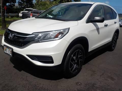 2016 Honda CR-V for sale in Hilo, HI