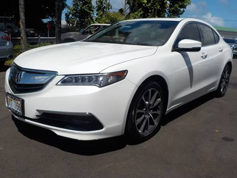 2016 Acura TLX for sale in Hilo, HI