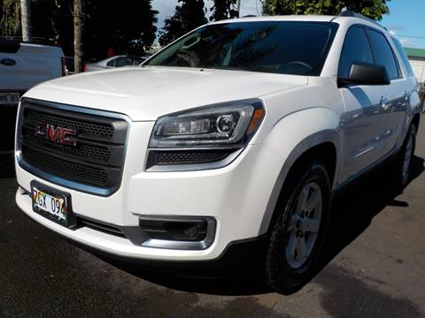2016 GMC Acadia for sale in Hilo, HI