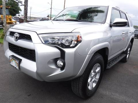 Ponos Used Cars >> Toyota Used Cars Pickup Trucks For Sale Hilo Pono S Used Cars