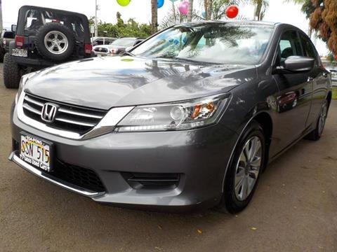 2015 Honda Accord for sale at PONO'S USED CARS in Hilo HI