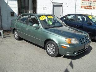 2003 Hyundai Accent for sale at Champion Auto Sales II INC in Rochester NY