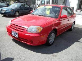 2005 Hyundai Accent for sale at Champion Auto Sales II INC in Rochester NY