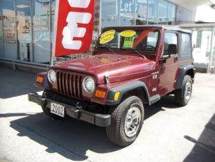 2002 Jeep Wrangler for sale at Champion Auto Sales II INC in Rochester NY