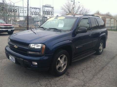 2004 Chevrolet TrailBlazer for sale at Champion Auto Sales II INC in Rochester NY