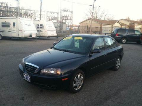 2005 Hyundai Elantra for sale at Champion Auto Sales II INC in Rochester NY