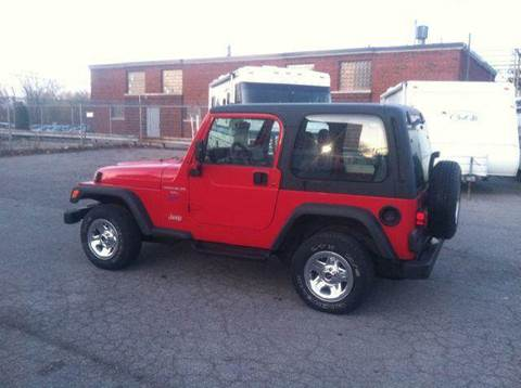 1998 Jeep Wrangler for sale at Champion Auto Sales II INC in Rochester NY