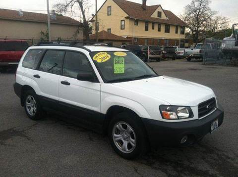 2004 Subaru Forester for sale at Champion Auto Sales II INC in Rochester NY