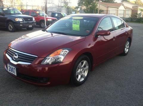 2007 Nissan Altima for sale at Champion Auto Sales II INC in Rochester NY