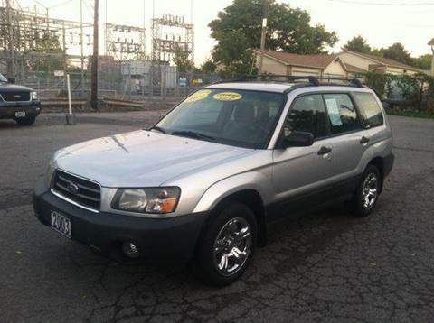 2003 Subaru Forester for sale at Champion Auto Sales II INC in Rochester NY