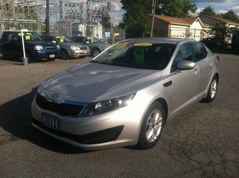 2011 Kia Optima for sale at Champion Auto Sales II INC in Rochester NY