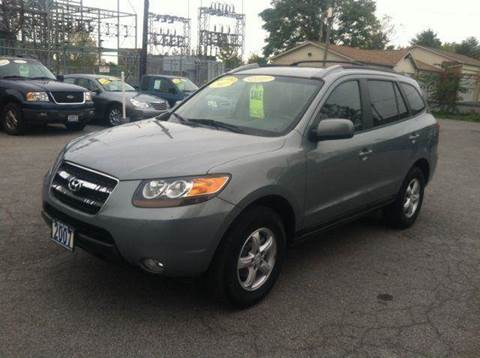 2007 Hyundai Santa Fe for sale at Champion Auto Sales II INC in Rochester NY