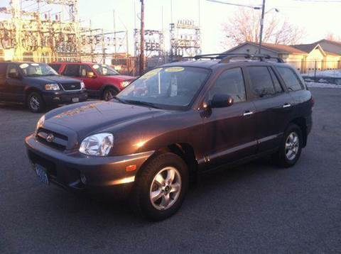 2006 Hyundai Santa Fe for sale at Champion Auto Sales II INC in Rochester NY