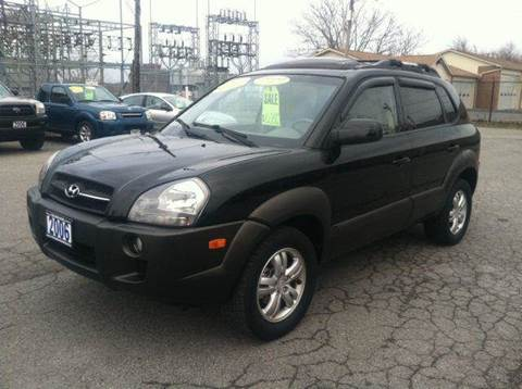 2006 Hyundai Tucson for sale at Champion Auto Sales II INC in Rochester NY