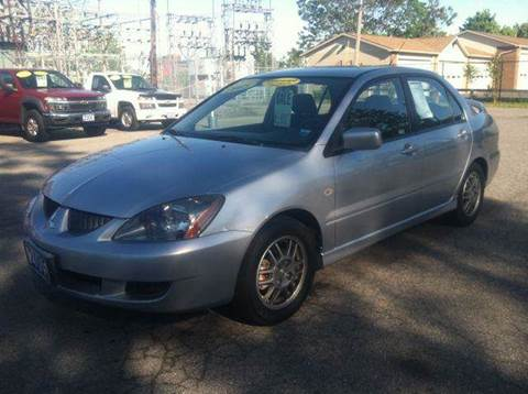 2005 Mitsubishi Lancer for sale at Champion Auto Sales II INC in Rochester NY