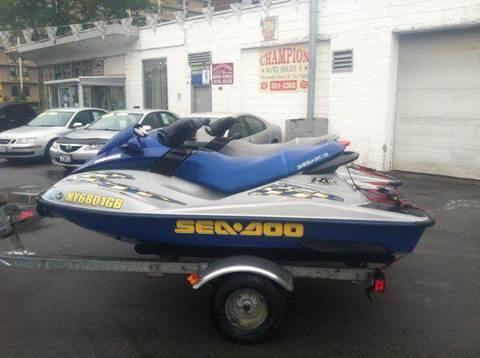 2002 Sea-Doo RX DI for sale at Champion Auto Sales II INC in Rochester NY