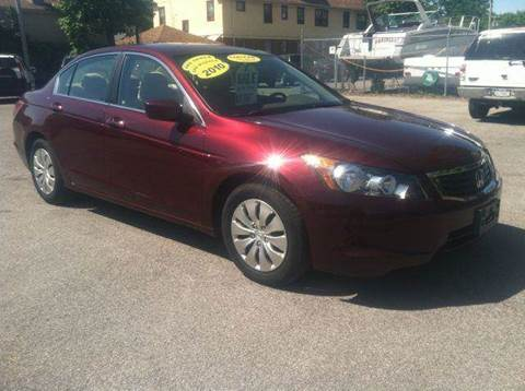 2010 Honda Accord for sale at Champion Auto Sales II INC in Rochester NY