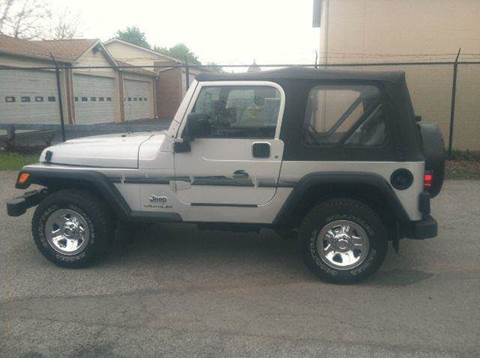 2003 Jeep Wrangler for sale at Champion Auto Sales II INC in Rochester NY