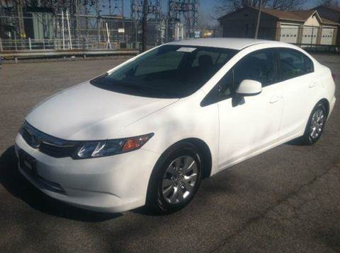 2012 Honda Civic for sale at Champion Auto Sales II INC in Rochester NY