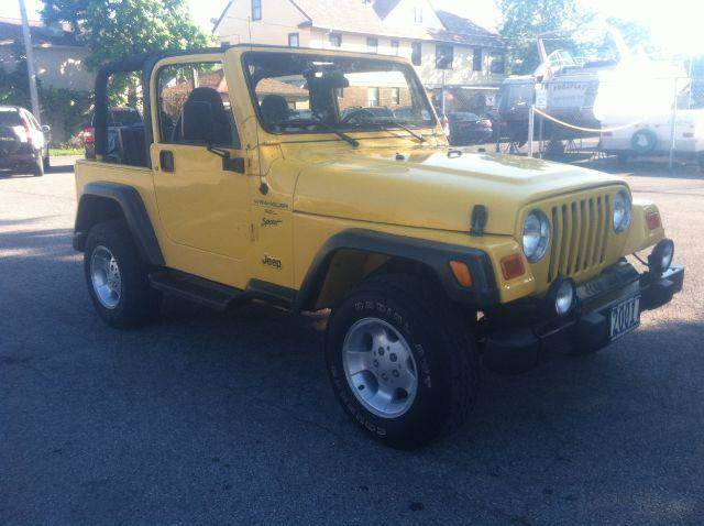 2004 Jeep Wrangler for sale at Champion Auto Sales II INC in Rochester NY