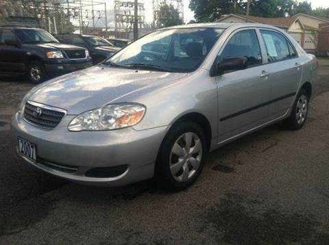 2007 Toyota Corolla for sale at Champion Auto Sales II INC in Rochester NY