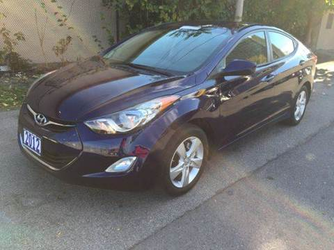 2012 Hyundai Elantra for sale at Champion Auto Sales II INC in Rochester NY