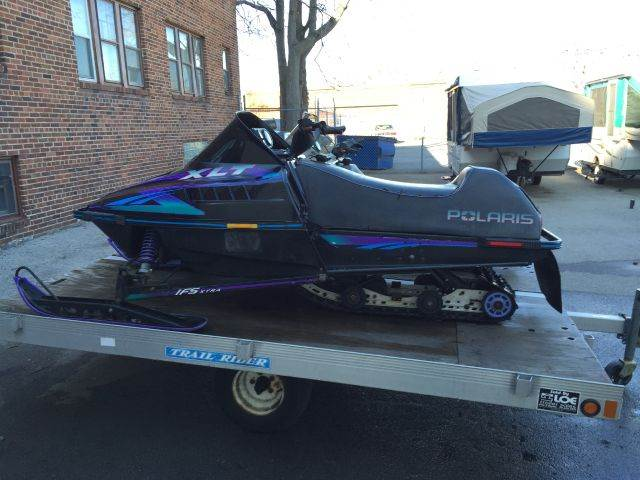 2005 Trail Rider Aluminum 2 Place Snowmobile Tr for sale at Champion Auto Sales II INC in Rochester NY