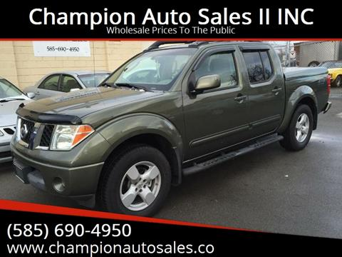 2005 Nissan Frontier for sale at Champion Auto Sales II INC in Rochester NY