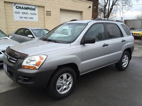 2007 Kia Sportage for sale at Champion Auto Sales II INC in Rochester NY