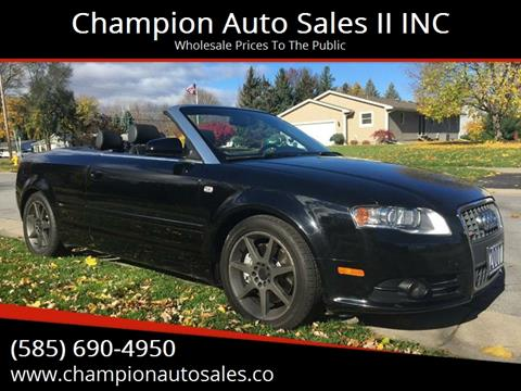 2007 Audi A4 for sale at Champion Auto Sales II INC in Rochester NY