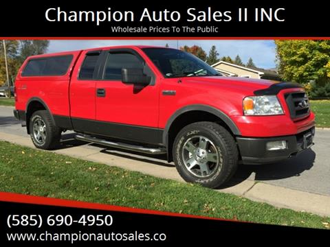 2005 Ford F-150 for sale at Champion Auto Sales II INC in Rochester NY