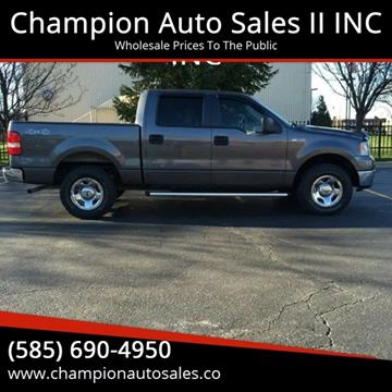 2007 Ford F-150 for sale at Champion Auto Sales II INC in Rochester NY