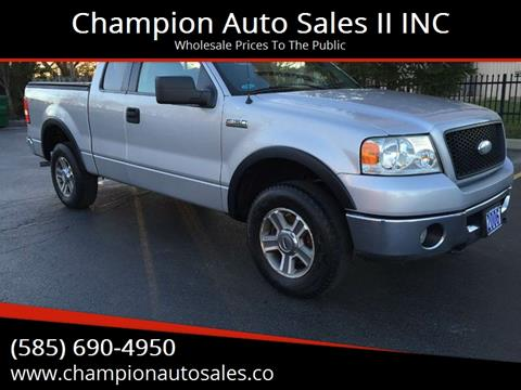 2006 Ford F-150 for sale at Champion Auto Sales II INC in Rochester NY