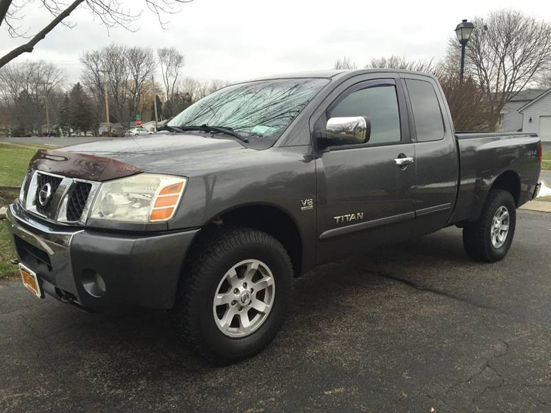 2004 Nissan Titan 4dr King Cab Se 4wd Sb In Rochester Ny Champion