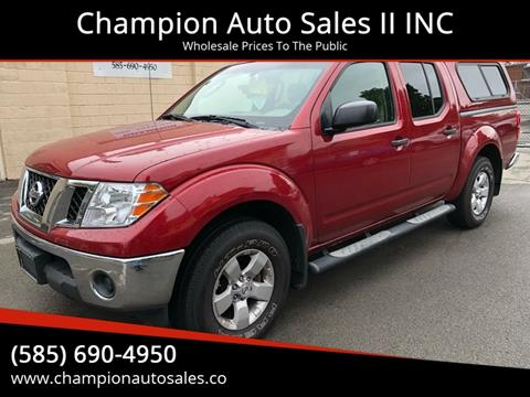 2010 Nissan Frontier for sale at Champion Auto Sales II INC in Rochester NY