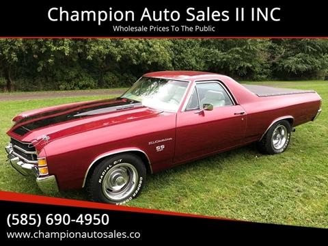 1971 Chevrolet El Camino for sale in Rochester, NY