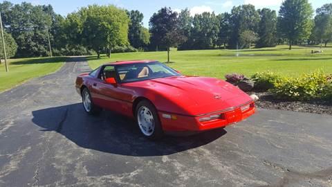 1989 corvette convertible blue book value