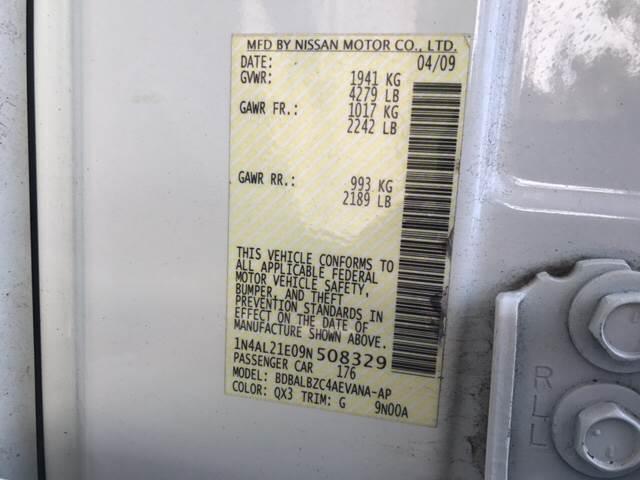 2009 Nissan Altima 2.5 S 4dr Sedan 6M - Teterboro NJ